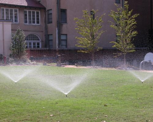 lawn sprinkler service